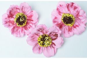 Бутон мака (фоамиран), 4 см, розовый
