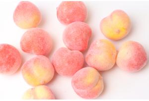 Фрукты, персик, 2.5 см, розово-персиковый