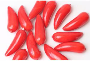 Фрукты, перчик, 4 см, красный