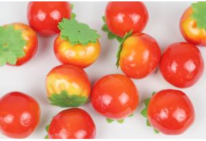 Фрукты и овощи, помидор, 3,5 x 3 см