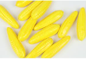Фрукты и овощи, кукуруза, 6,5 x 2 см