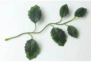 Листики декоративные (лиана), зеленые, 17x12 см №4
