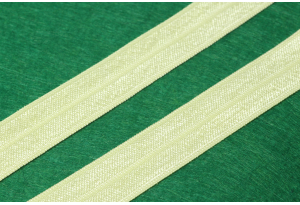 Бейка-резинка (лента стрейч), 1.5 см, светло-желтая