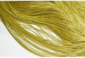 Люрексовая нить, 1 мм, золото