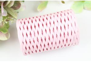 Рафия декоративная, 3 мм, 50 гр, 90 м, розовая