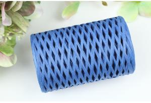 Рафия декоративная, 3 мм, 50 гр, 90 м, синяя