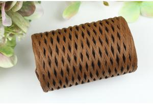 Рафия декоративная, 3 мм, 50 гр, 90 м, шоколадная