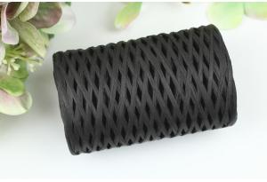 Рафия декоративная, 3 мм, 50 гр, 90 м, черная
