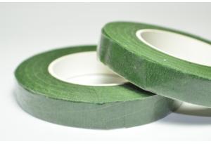 Тейп-лента, 13 мм, зеленая, рулон 26 м.