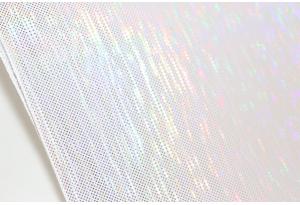 Экокожа 20x30 см, толщина 1 мм, белый перламутр