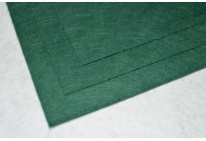Фетр 20 х 25 см, толщина 1 мм, жесткий, темно-зеленый