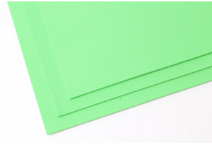 Фоамиран 20 x 30 см, толщина 2 мм, ярко-зеленый