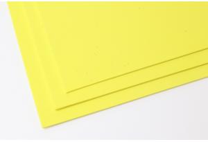 Фоамиран 20 x 30 см, толщина 2 мм, желтый