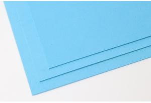 Фоамиран 20 x 30 см, толщина 2 мм, голубой