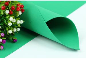 Фоамиран 50 x 50 см, толщина 1 мм, зеленый