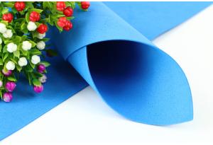 Фоамиран 50 x 50 см, толщина 1 мм, синий