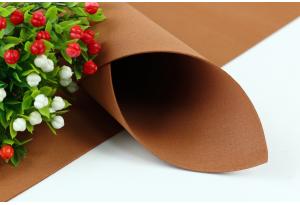 Фоамиран 50 x 50 см, толщина 1 мм, коричневый