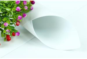 Фоамиран 50 x 50 см, толщина 1 мм, белый