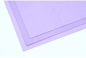 Фоамиран 20 x 30 см, толщина 1 мм, светло-сиреневый