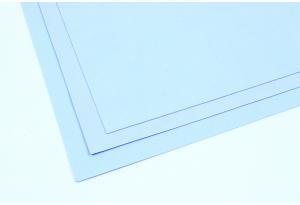 Фоамиран 20 x 30 см, толщина 1 мм, светло-голубой