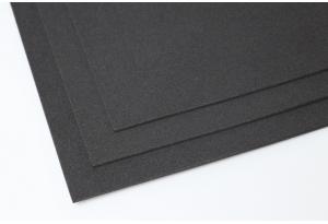 Фоамиран 20 x 30 см, толщина 2 мм, черный