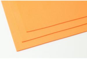 Фоамиран 20 x 30 см, толщина 2 мм, оранжевый