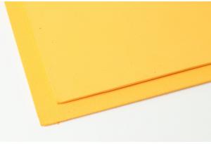 Фоамиран 20 x 30 см, толщина 2 мм, темно-желтый
