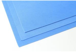 Фоамиран 20 x 30 см, толщина 2 мм, синий