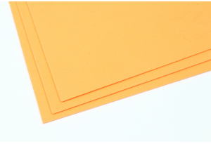 Фоамиран 20 x 30 см, толщина 2 мм, темно-персиковый