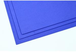 Фоамиран 20 x 30 см, толщина 2 мм, фиолетово-синий