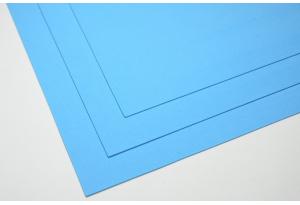 Фоамиран 20 х 30 см, толщина 1 мм, голубой