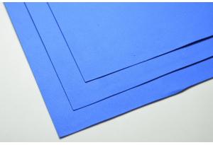 Фоамиран 20 х 30 см, толщина 1 мм, синий