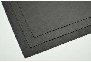 Фоамиран 20 х 30 см, толщина 1 мм, черный