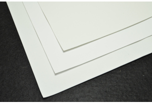 Фоамиран 20 х 30 см, толщина 1 мм, белый