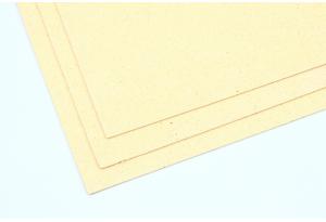 Фоамиран с глиттером 20x30 см, толщина 2 мм, кремовый