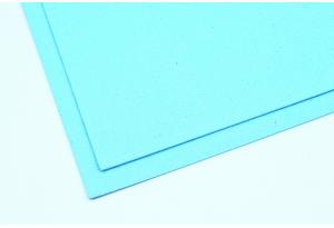 Фоамиран с глиттером 20x30 см, толщина 2 мм, светло-голубой