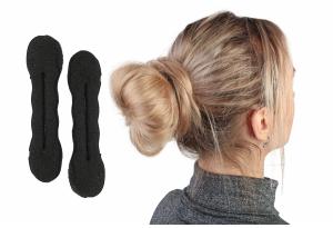 Твистер для волос, 16 см, черный