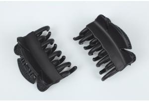 Краб для волос 4 см, черный