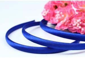 Обруч пластиковый в атласе, 0,9 см, синий