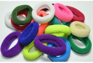 Резинка для волос Калуш махровая, 4-4.5 см, цветной микс