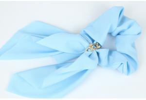 Резинка Твилли с цепочкой, 27 см, голубая