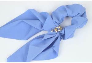 Резинка Твилли с цепочкой, 27 см, светло-синяя