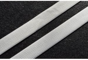Резинка для одежды 2 см, белая