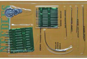 Набор игл для шитья (26 шт.) с нитковдевателем в блистере