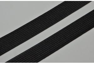 Резинка для одежды 2 см, черная