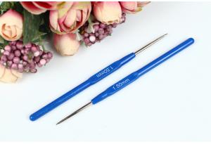 Крючок для вязания с пластмассовой ручкой 1.5 мм