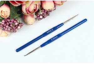 Крючок для вязания с пластмассовой ручкой 2.0 мм
