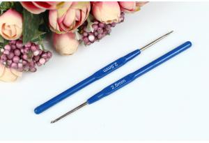 Крючок для вязания с пластмассовой ручкой 2.5 мм