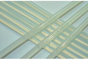 Термоклей 7 мм, полупрозрачный, длина 27 см