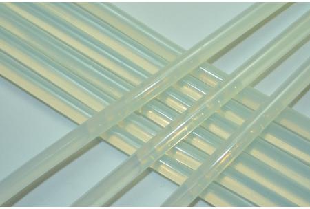 Термоклей 7 мм, полупрозрачный, длина 28 см